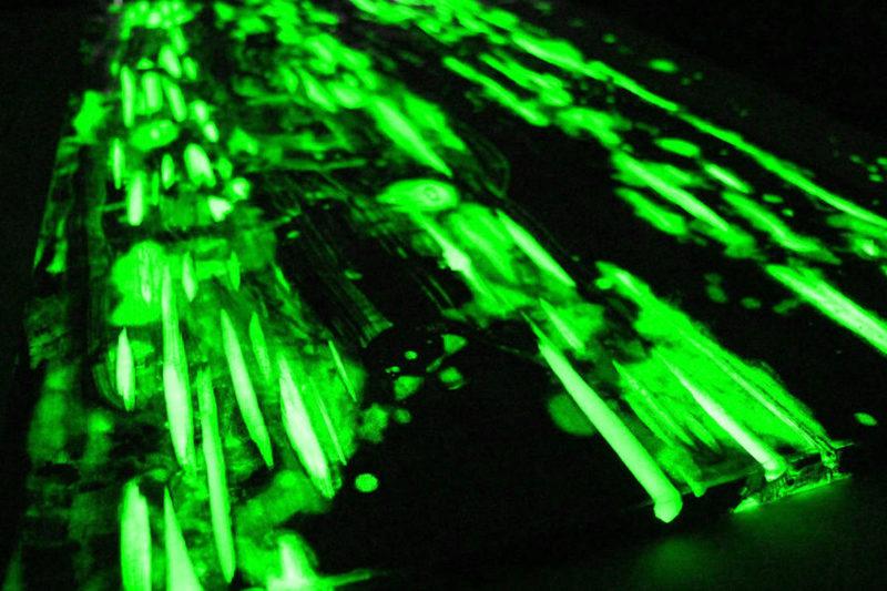 glowinthedark pigment epoxidharz epodex green