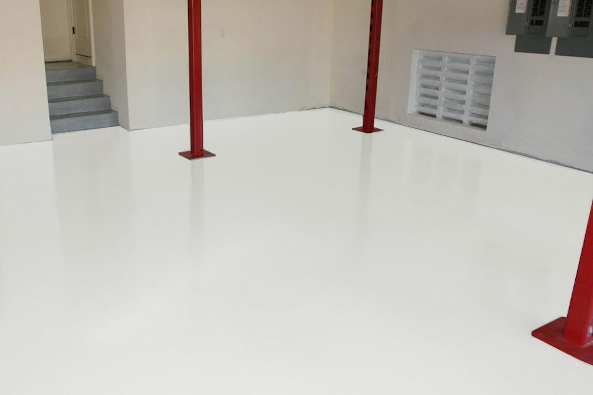 Ral 9003 Signal White Epoxy Floor