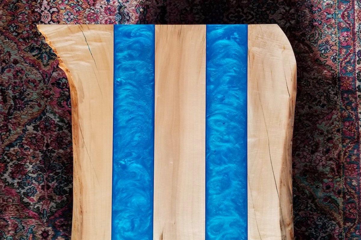 azur blue epoxidharzboden inkl grundierung epodex. Black Bedroom Furniture Sets. Home Design Ideas