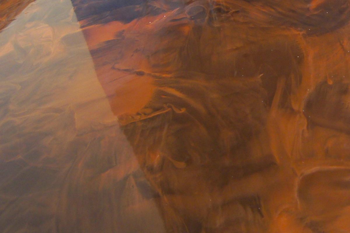 DARK BROWN & HAVANA BRONZE & BRONZE RED- epoxy floor incl  primer