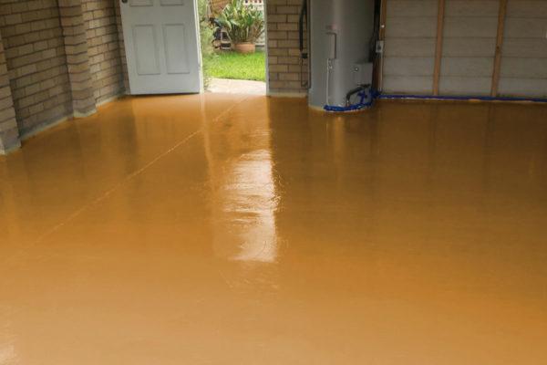 epoxidharz industrieboden epoxy gießharz betonboden ral8001 ockerbraun epodex