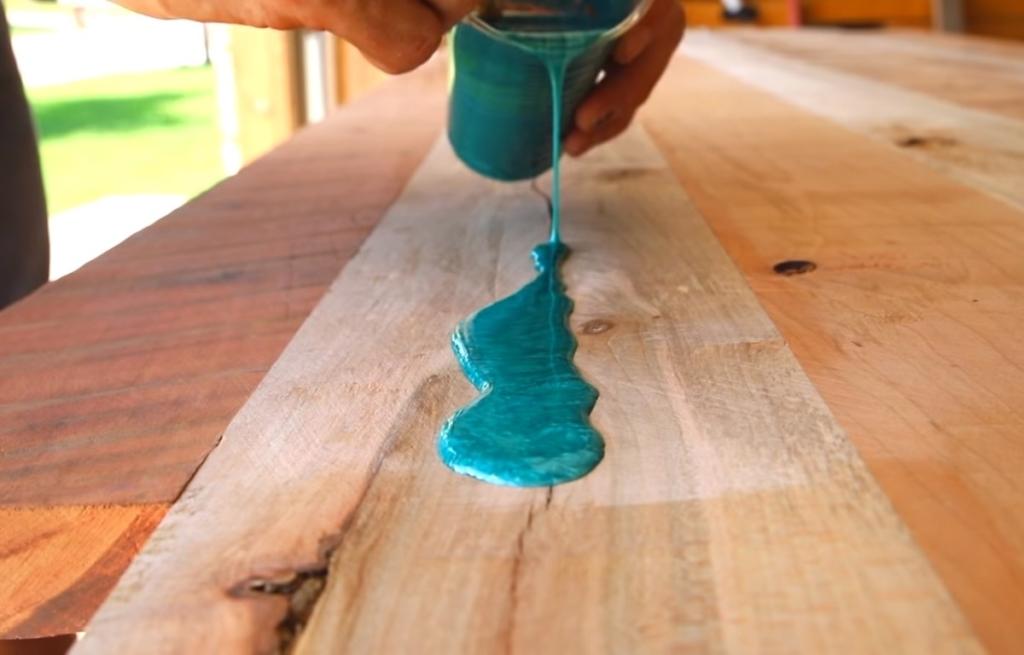 epoxy harz Tisch