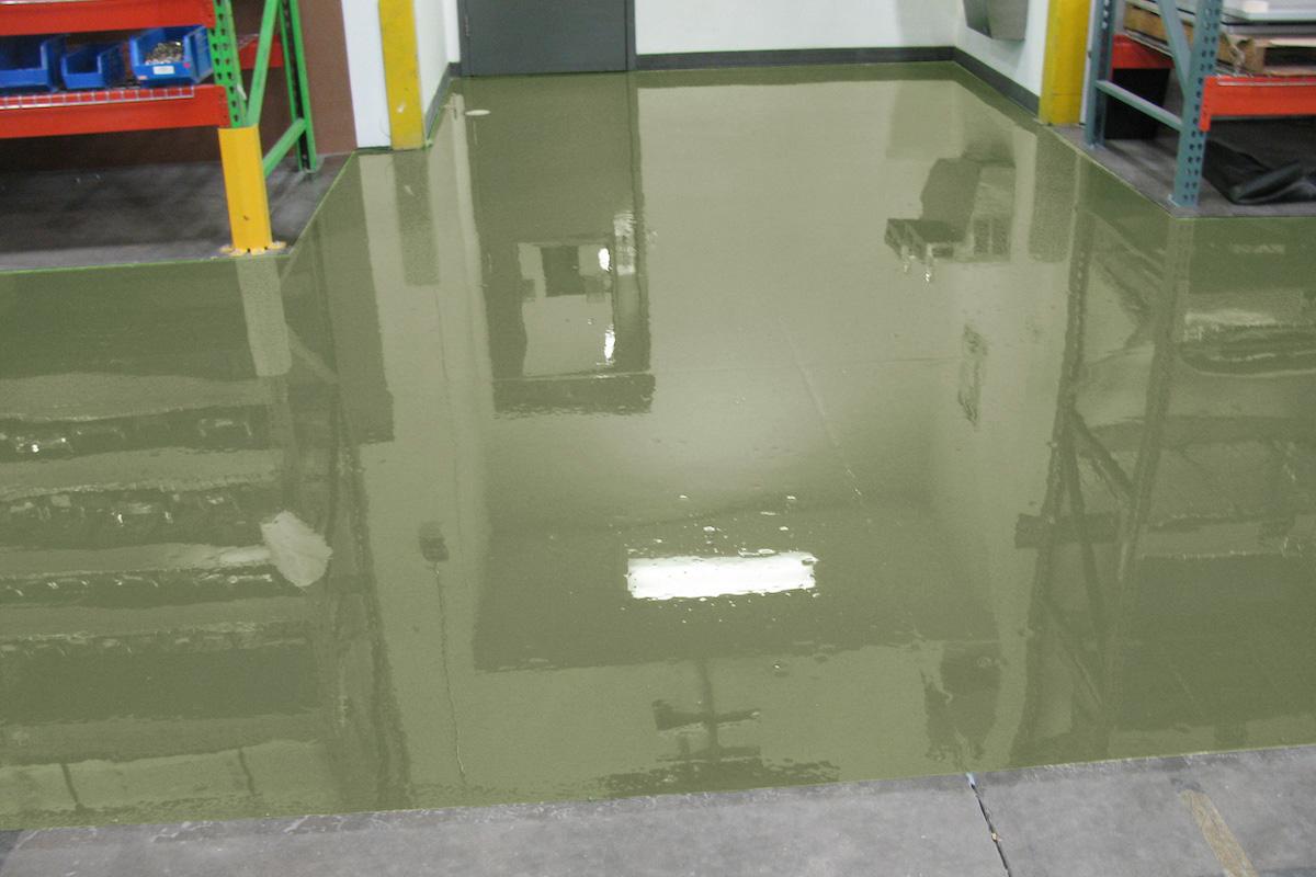 giessharz epoxidharz industrieboden epoxy industrial flooring ral7002 olivgrau epodex