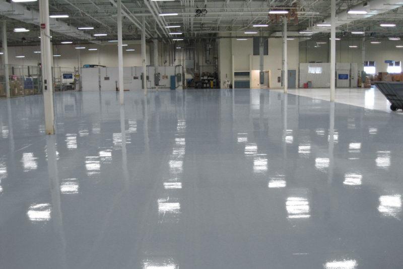 giessharz epoxidharz industrieboden industrial flooring ral7001 silbergrau epodex-