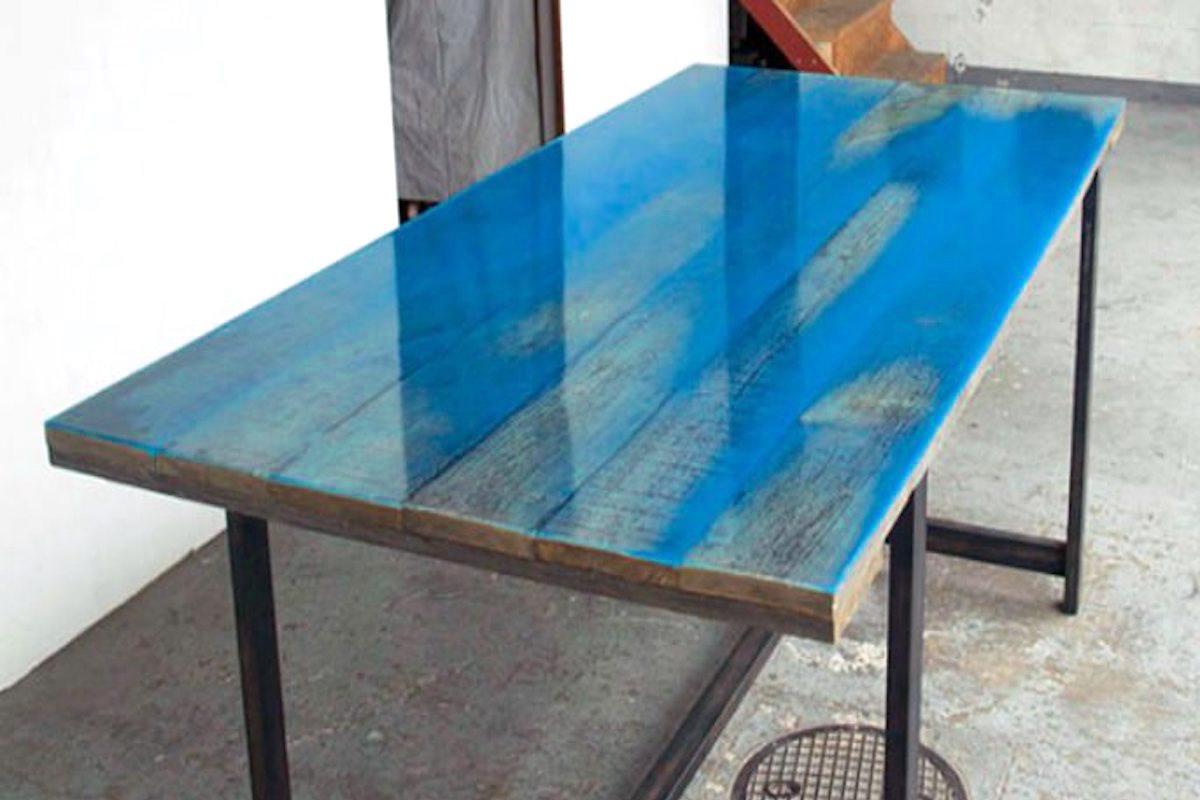 neon blue epoxidharz epodex. Black Bedroom Furniture Sets. Home Design Ideas