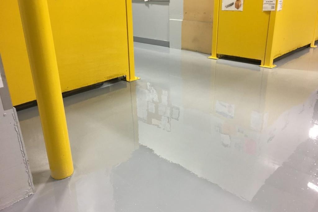 harz Industriebodenbeschichtung