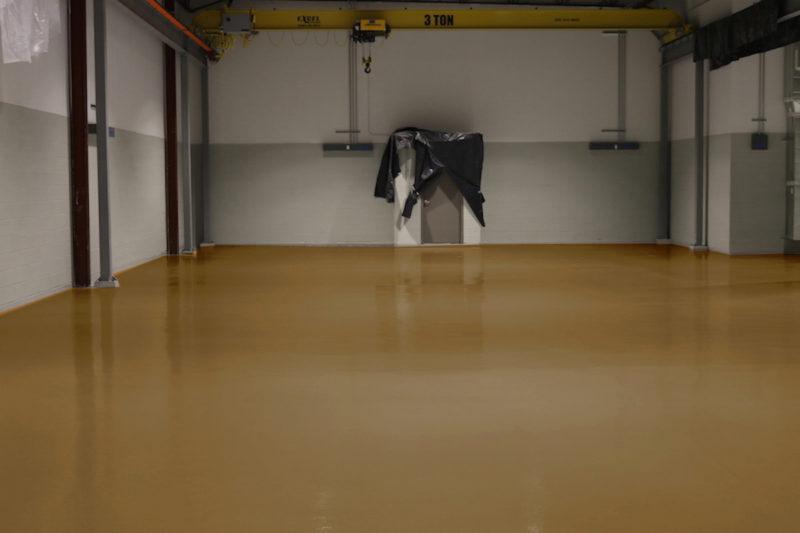 industrieboden beschichtung epoxidharz ral1011 braunbeige