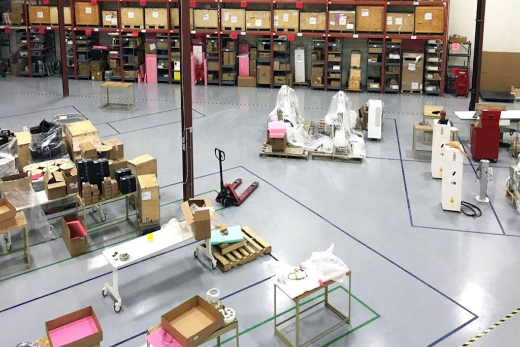 kunstharz industrieboden