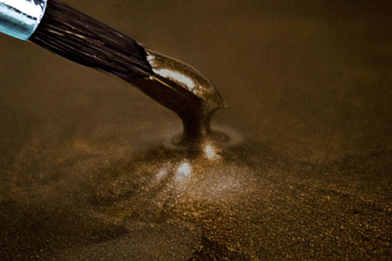 kunstharzboden epoxidharz dark brown
