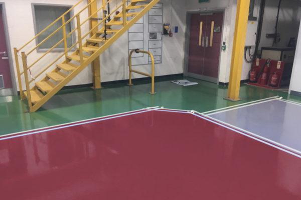 ral4002 rotviolet epoxidharz fußbodenbeschichtung