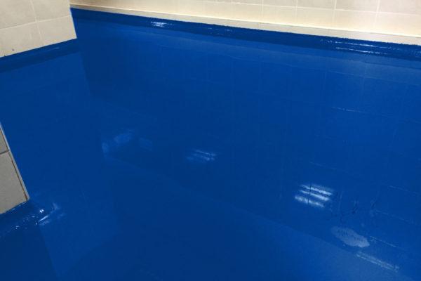 ral5002 ultramarienblau-garagenboden beschichtung epoxy