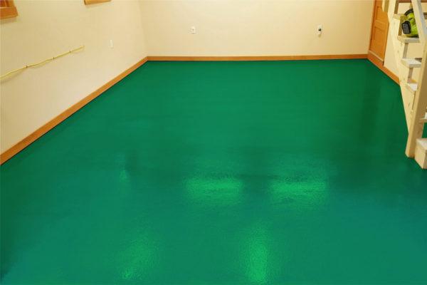 ral6024 verkehrsgruen industrieboden epoxy gießharz