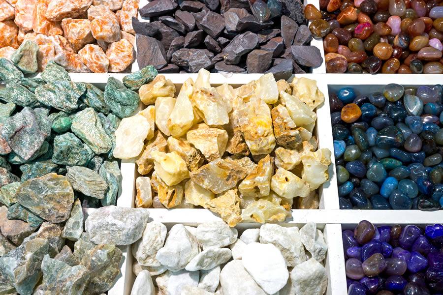 steinteppich steine farbig