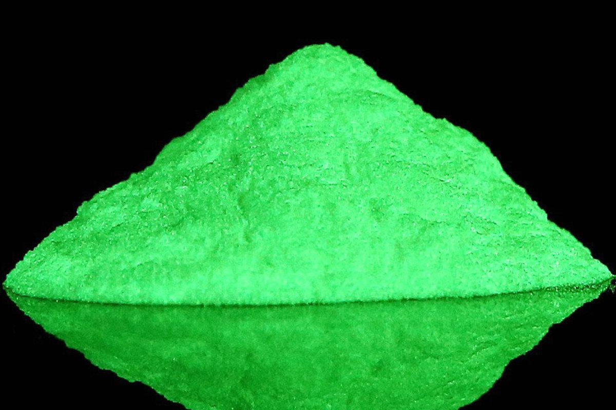 Pigments fluorescents et néon