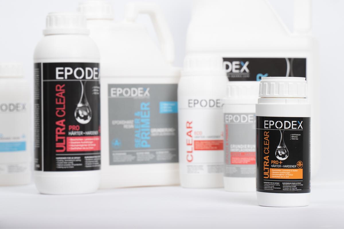Epoxidharz Systeme von EPODEX