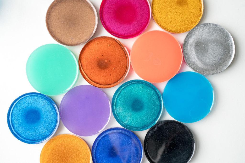 kleurstoffen hars