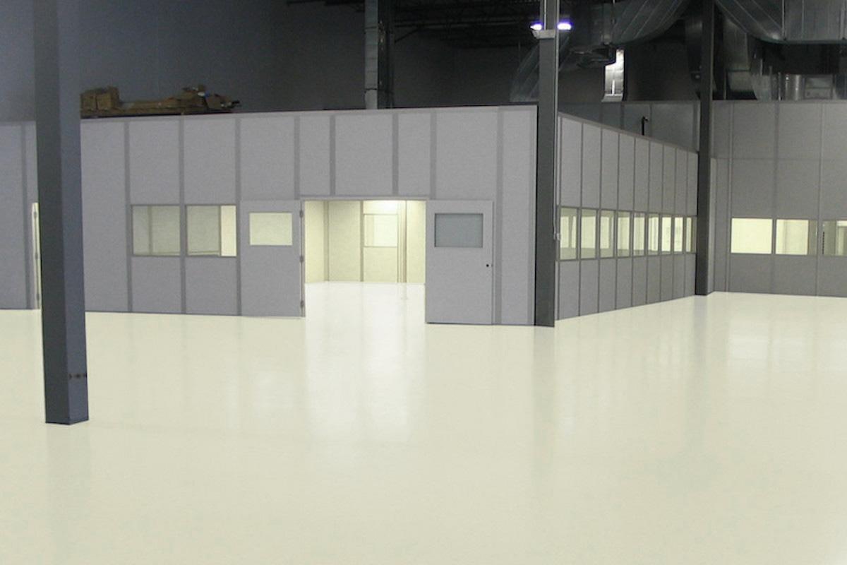 epoxidharz industrieboden beschichtung epoxy gießharz cremeweiss ral9001