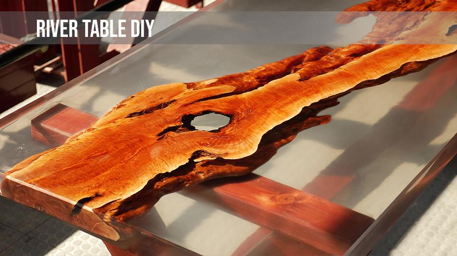 epoxy resin table diy