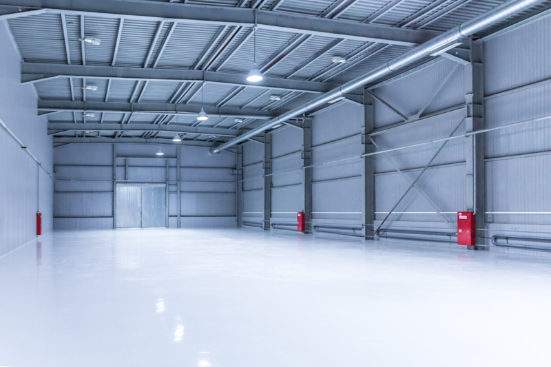 revetement sol garag -industrie