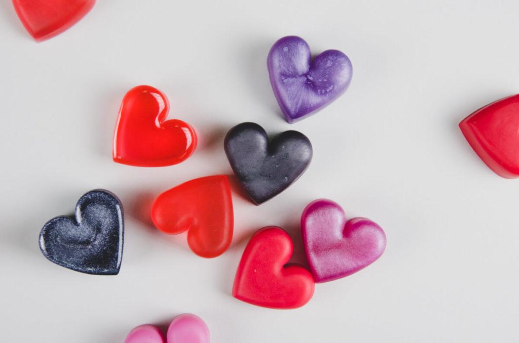 resin magnete farbig