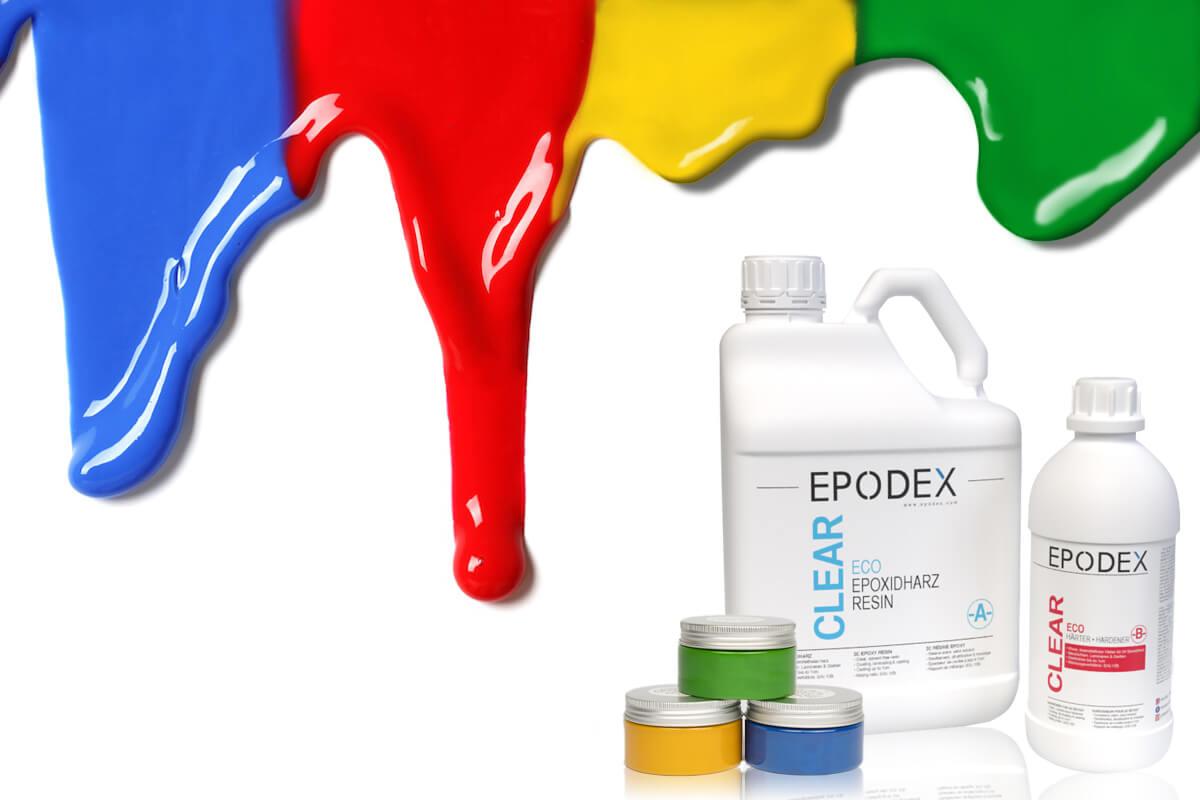 zywica epoksydowa jednolite kolory