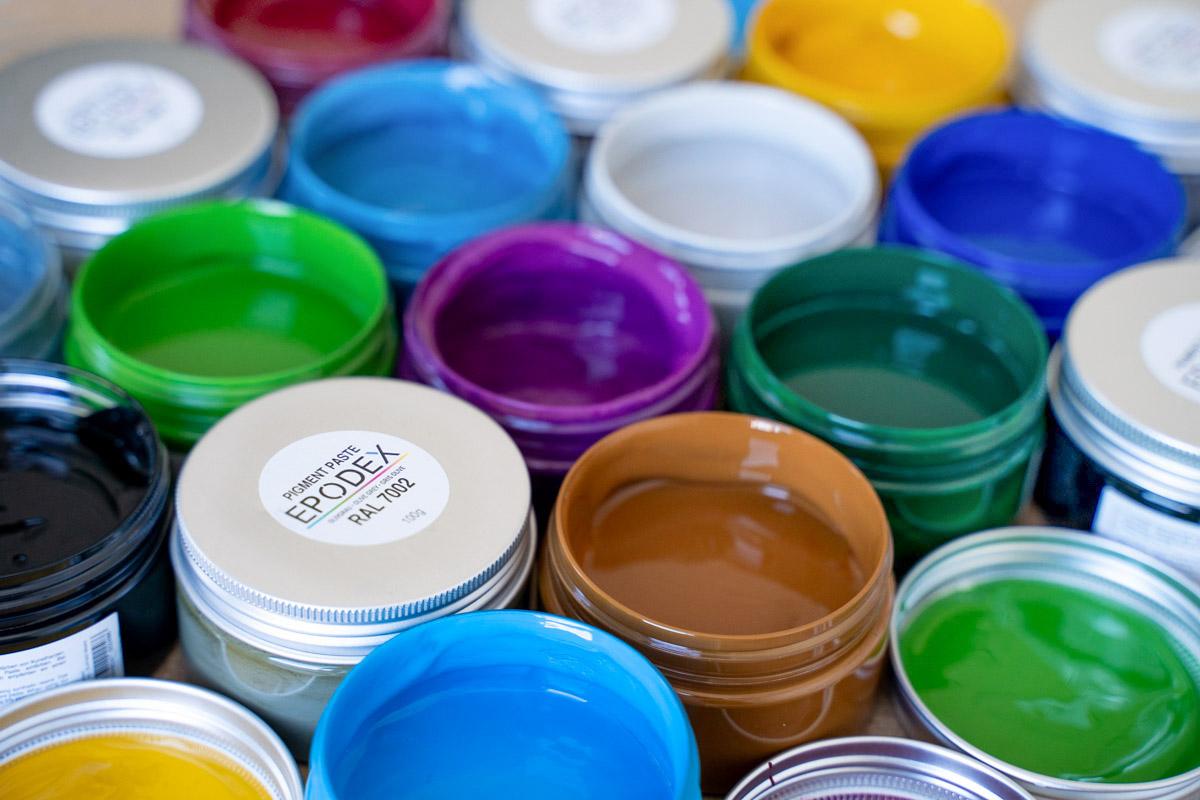 epoxy Haz farbpaste