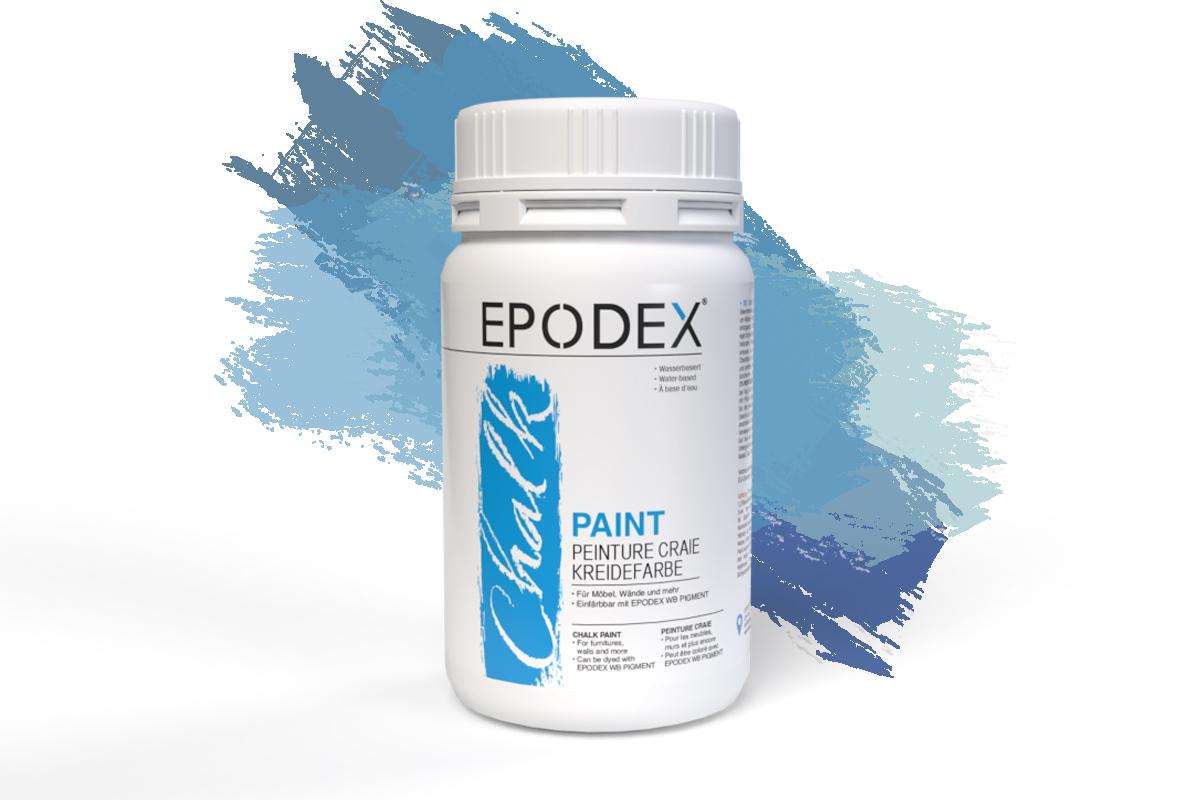 kreidefarbe chalk paint blau