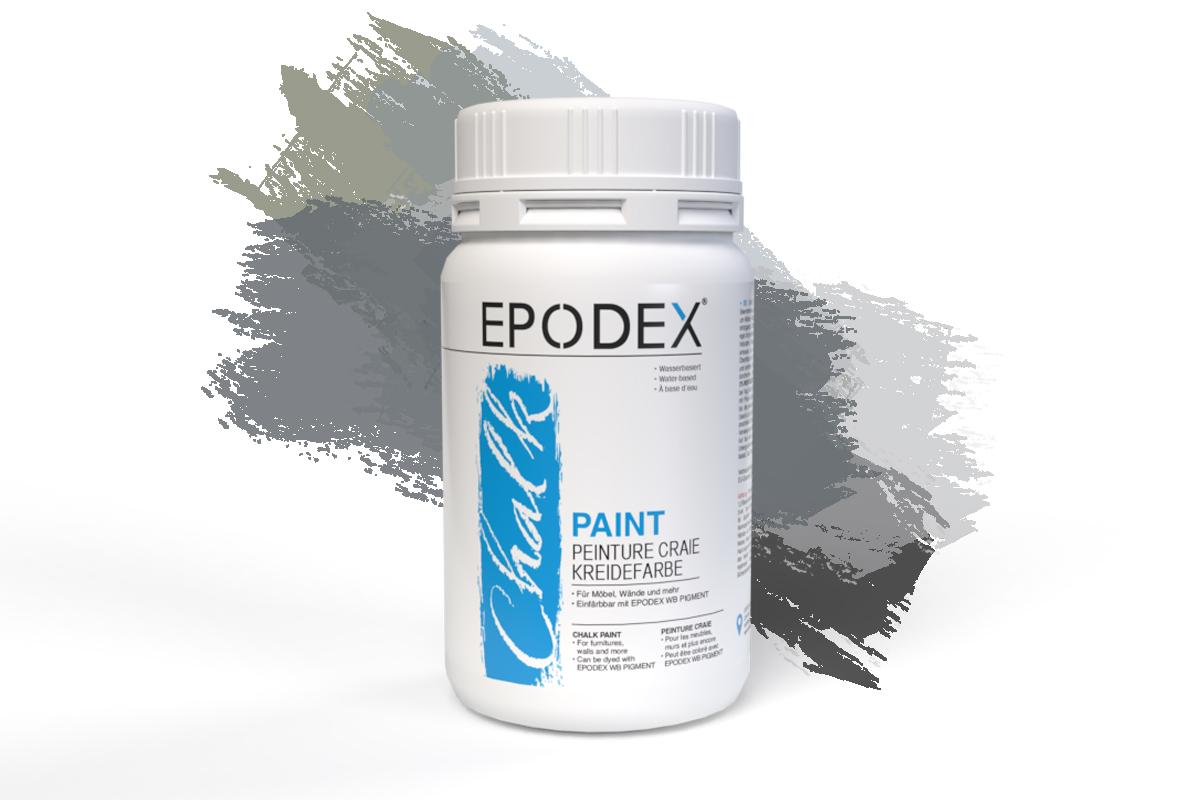 kreidefarbe chalk paint grau