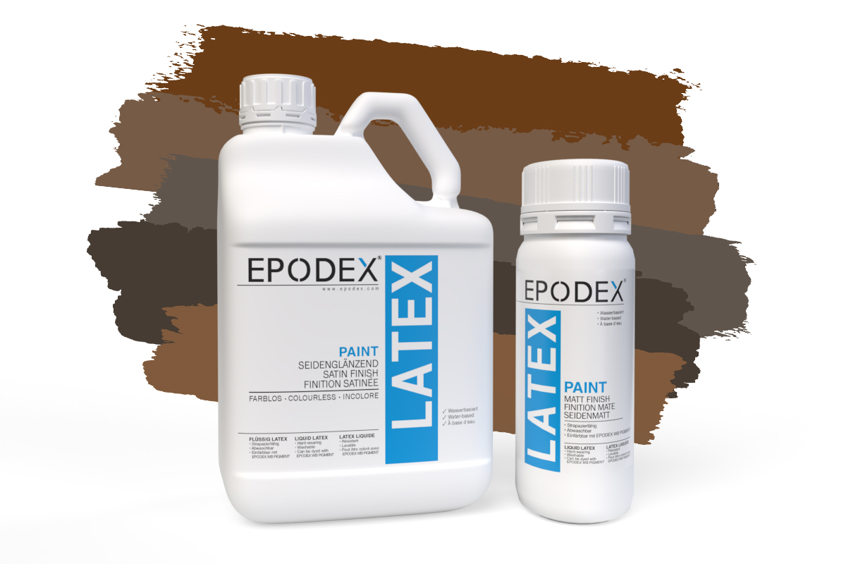 latex paint braun latexfarbe