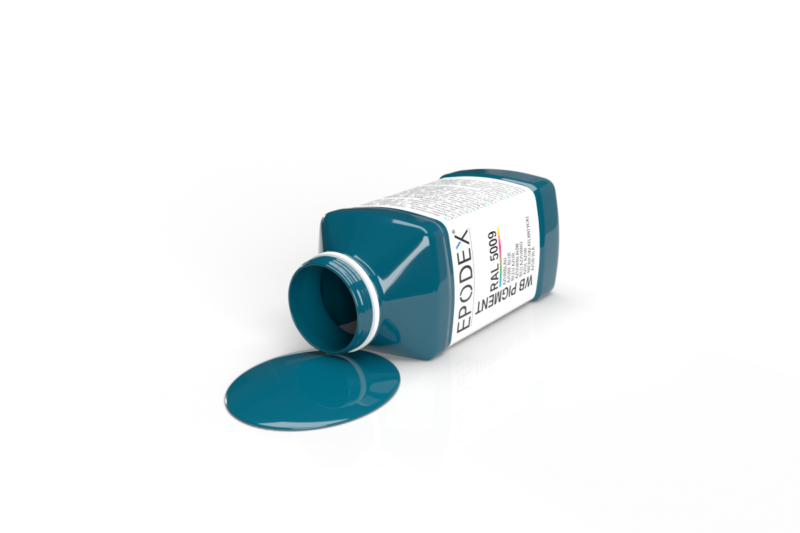 wb farbe colour azurblau ral5009