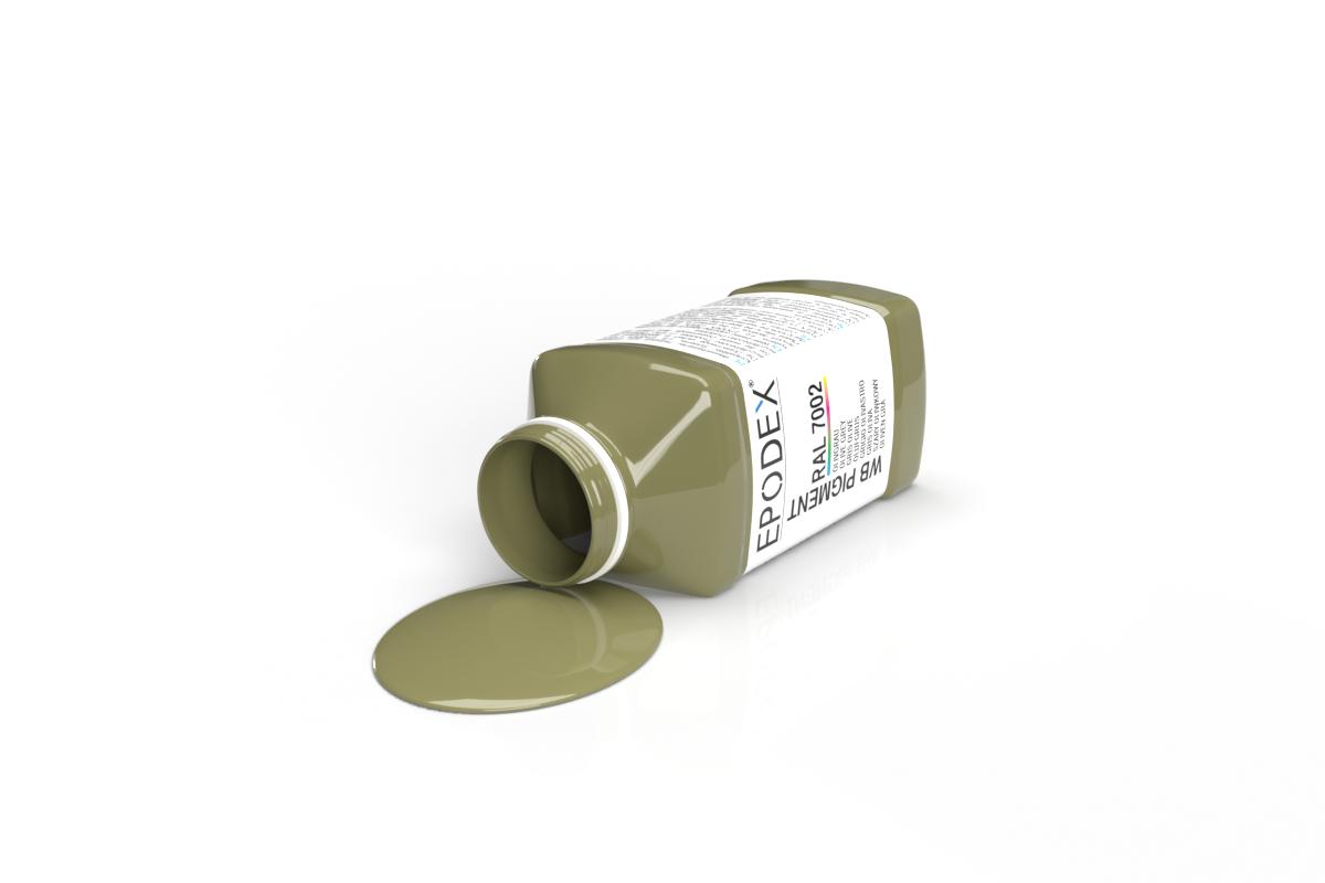 wb farbe colour olivgrau ral7002