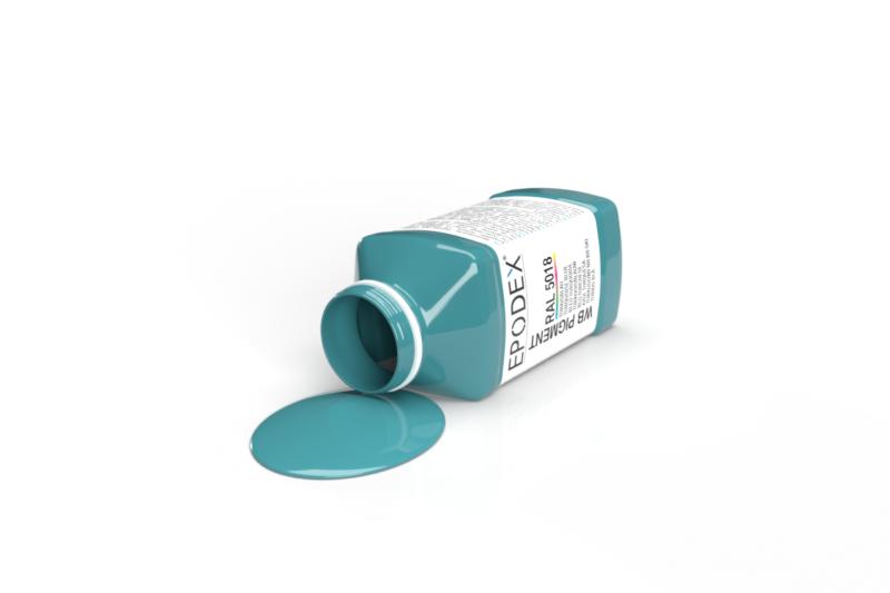 wb farbe colour tuerkisblau ral5018