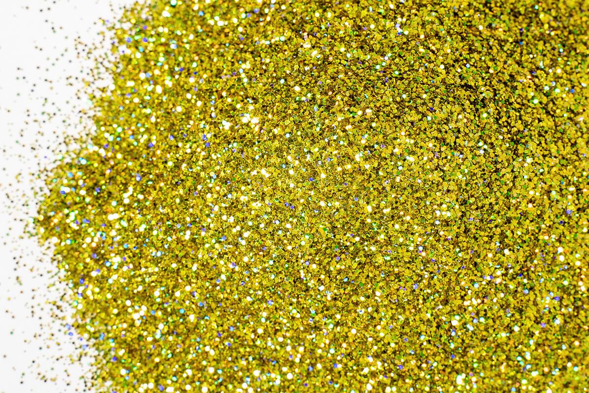 epoxidharz glitter farbe flake goldstar