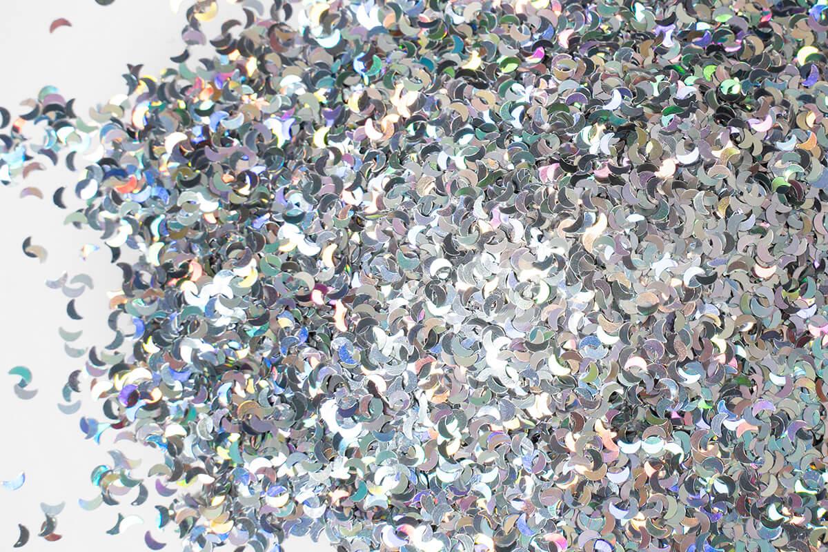 epoxidharz glitter farbe flake silverstar