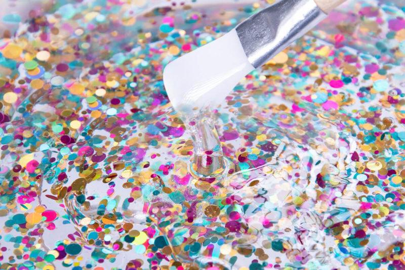 epoxy glitter glitzer pigment flakes rainbow