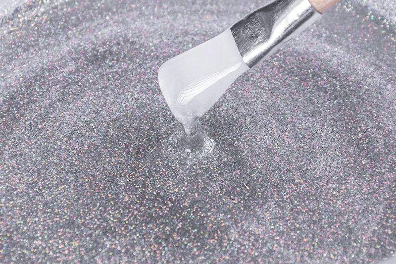 epoxy glitter glitzer pigment holographic silver