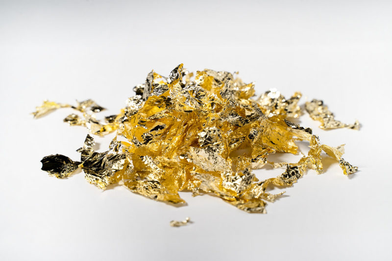 glitter glitzer farbe 3D flake gold