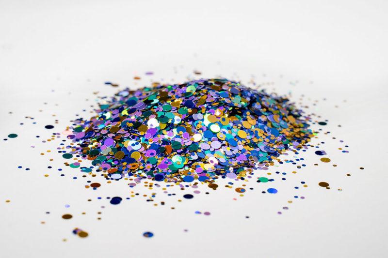 glitter glitzer farbe flake flower power