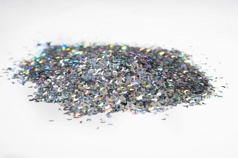 glitter glitzer farbe flake silverstar