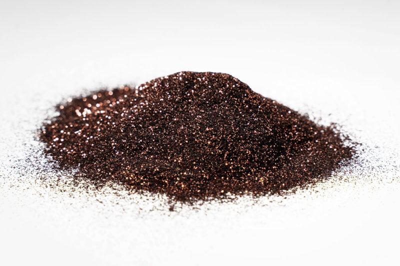 glitter glitzer farbe pigment coffee