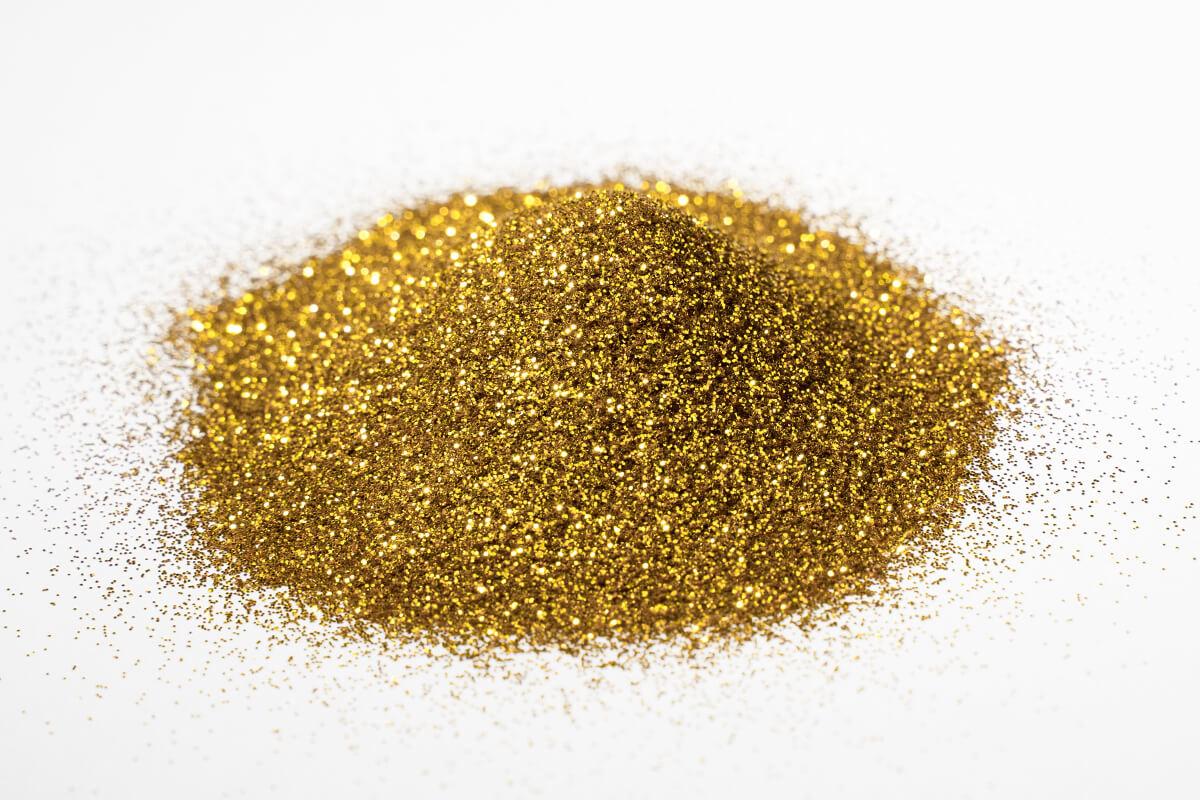 glitter glitzer farbe pigment gold