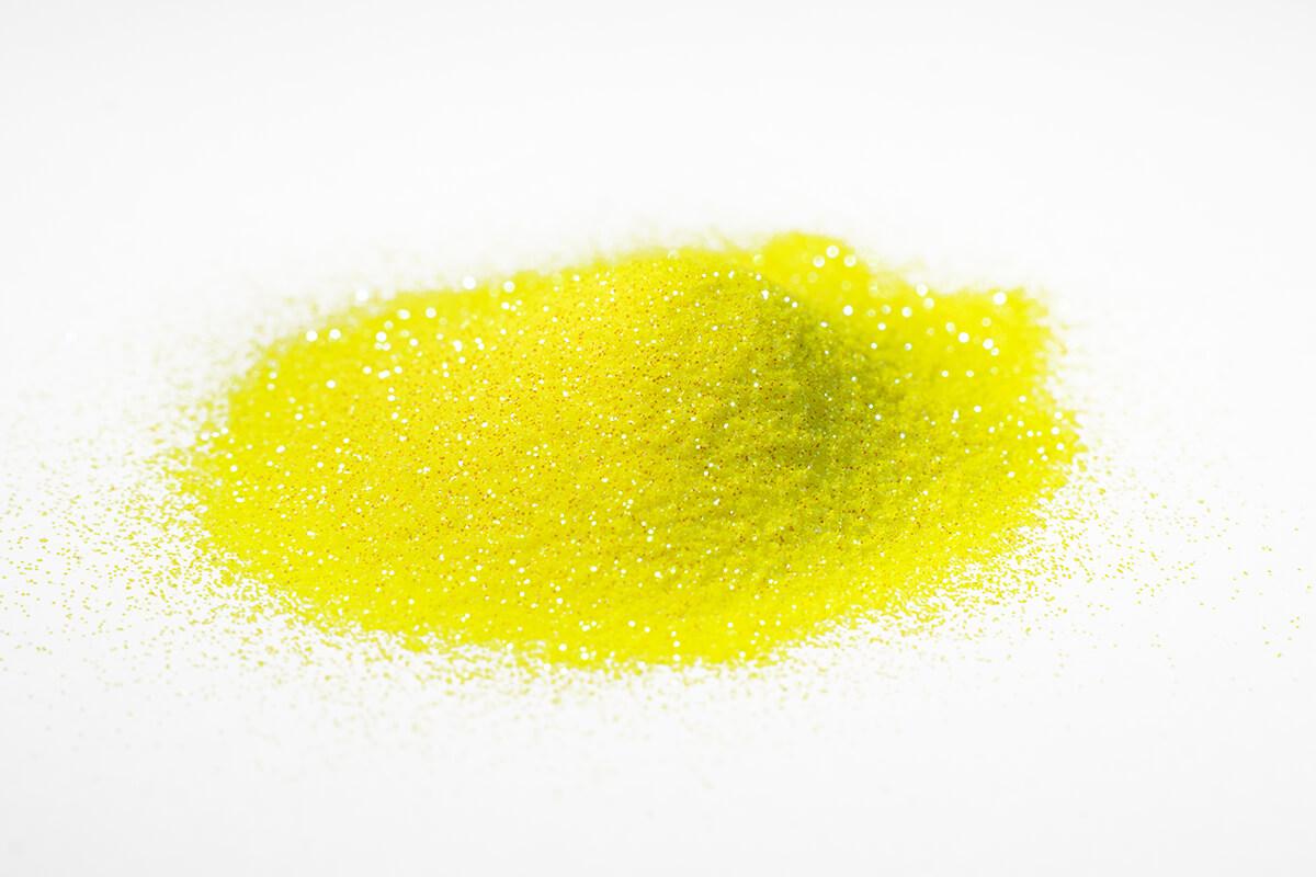 glitter glitzer farbe pigment yellow holographic