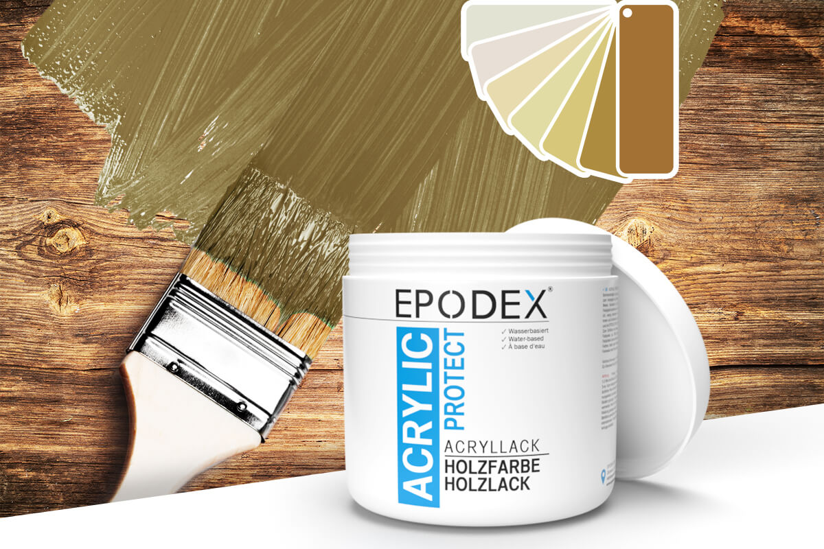 acryllack holzfarbe beige