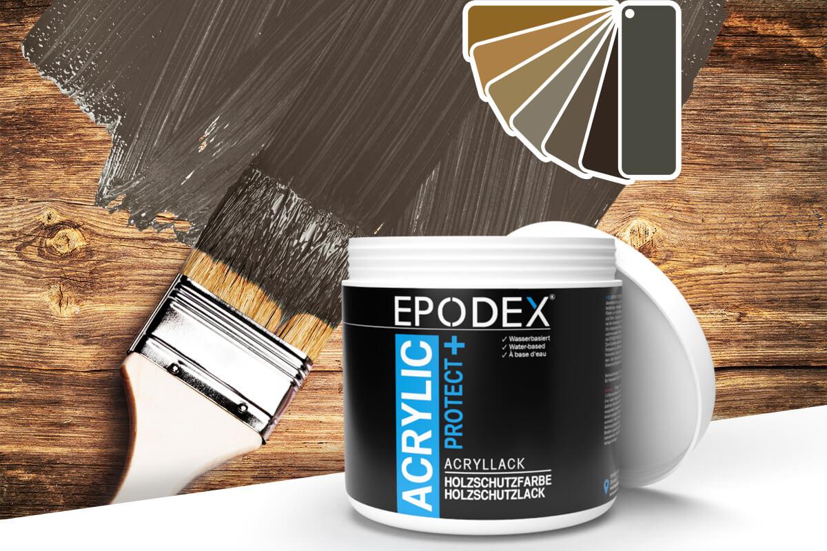 acryllack holzschutzfarbe brown