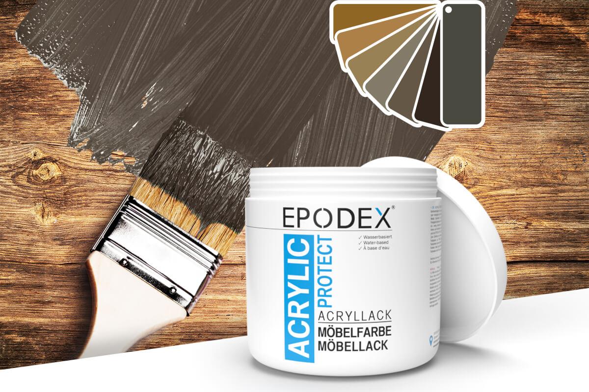 acryllack moebelfarbe brown