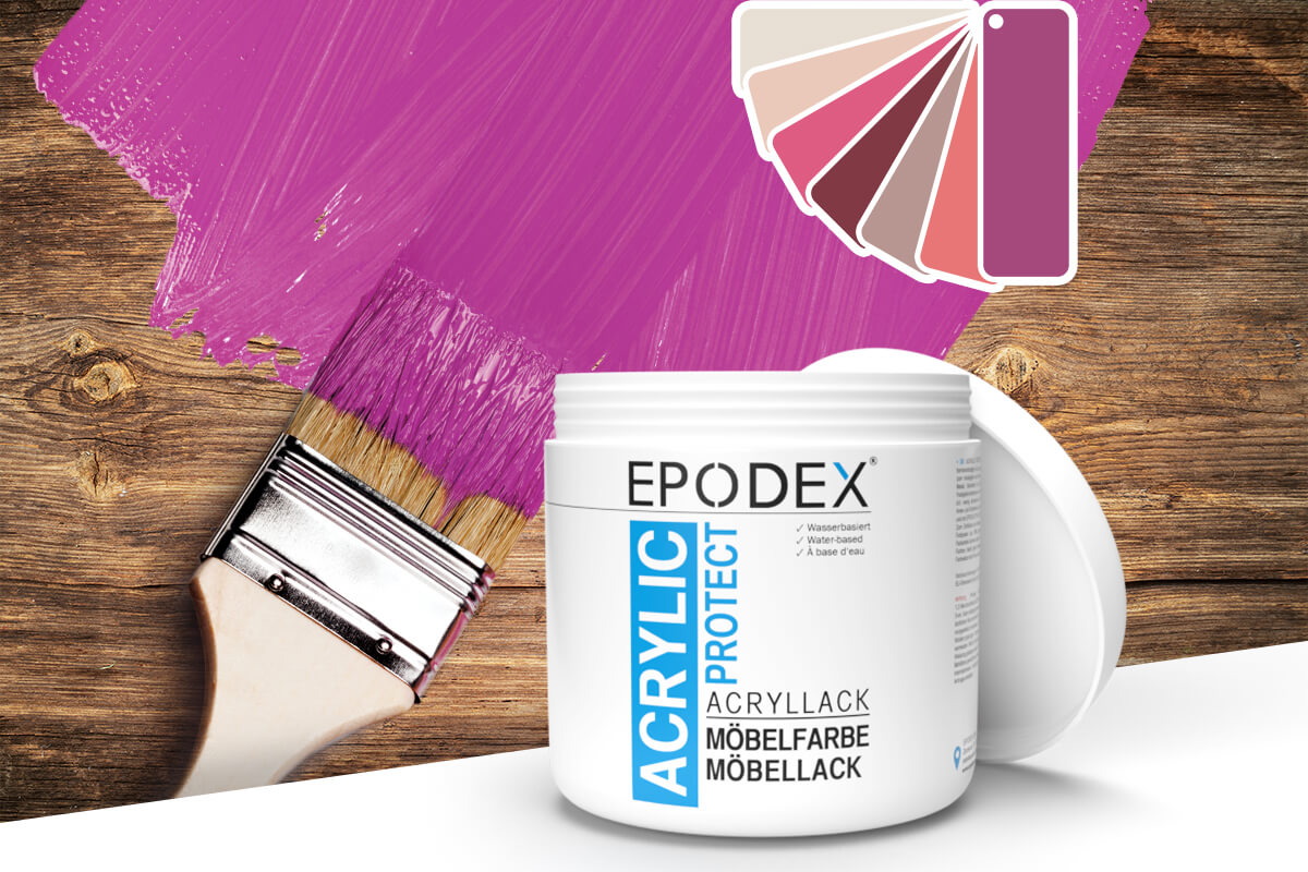 acryllack moebelfarbe violett