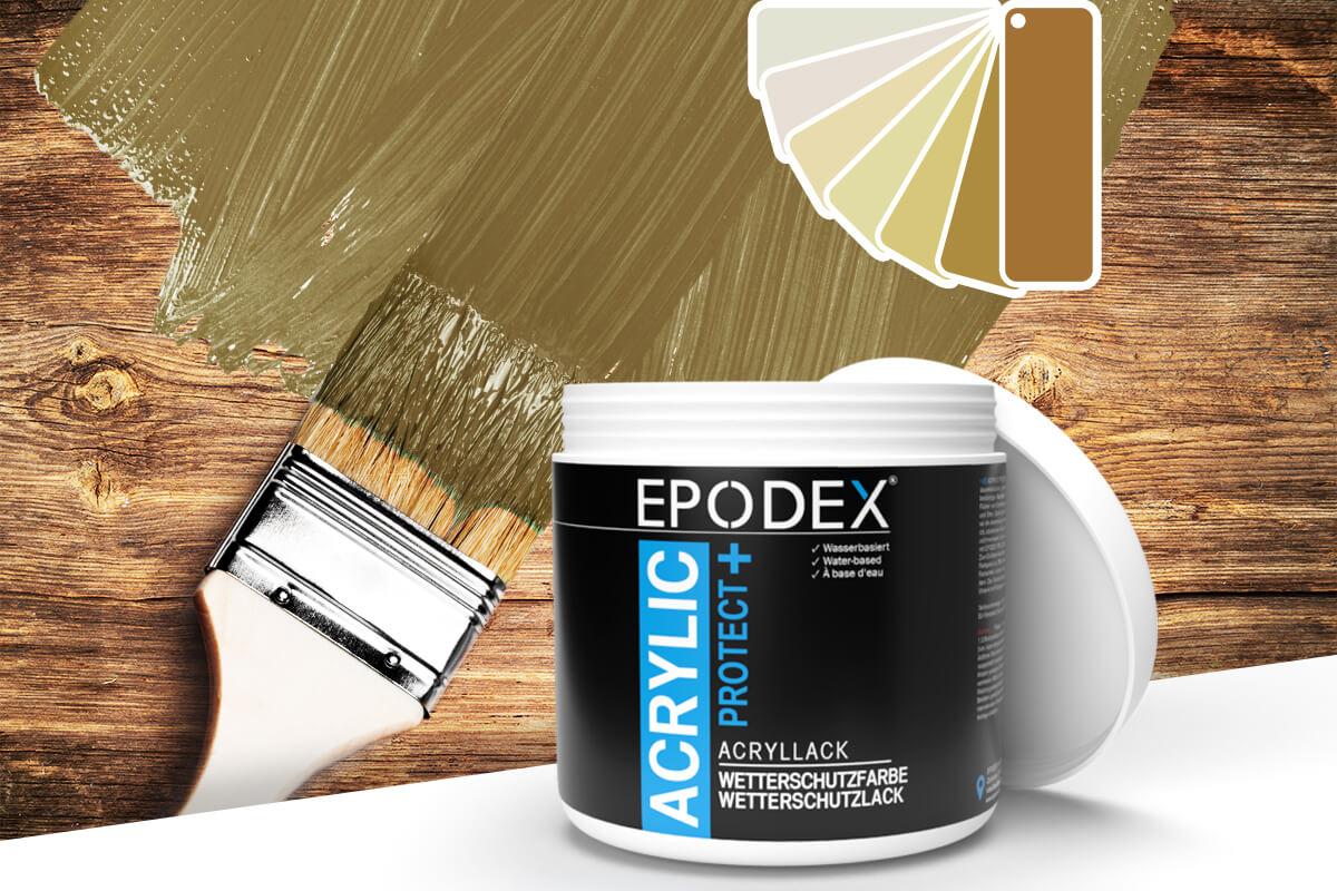 acryllack wetterschutzfarbe beige