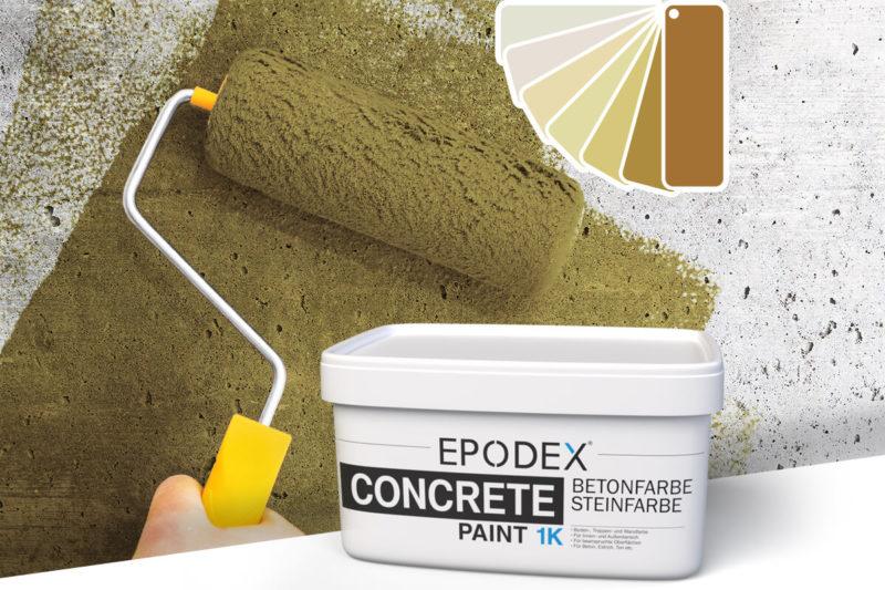 betonfarbe concrete paint beige