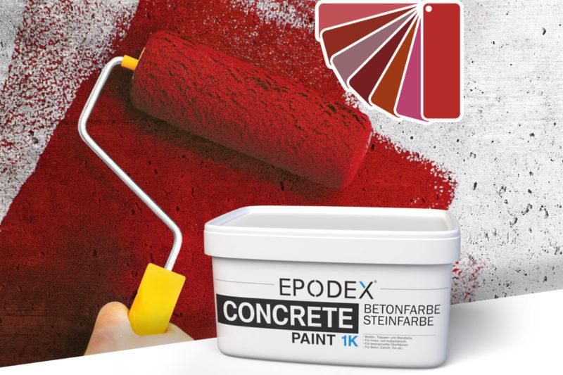 betonfarbe concrete paint rot