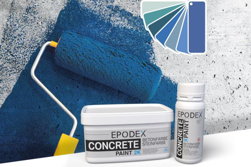 bodenfarbe betonfarbe concrete blau